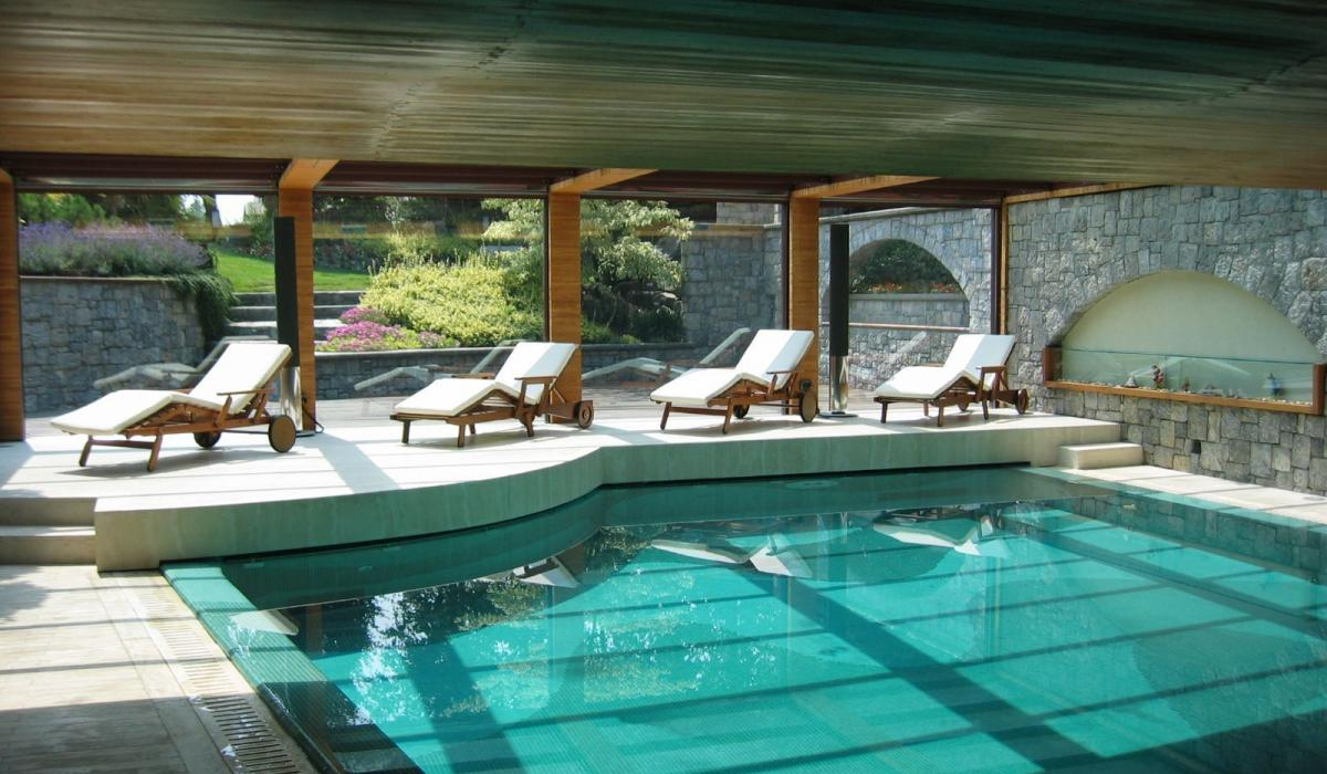 Piscina Interna e Zone Benessere: Golden Spa
