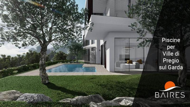 Progettazione e Realizzazione piscine per complesso di Ville sul Garda - Brescia Bergamo Milano