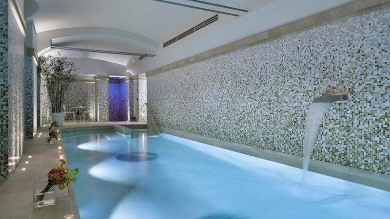 Sauna - Piscina interna wellness: Ocean City - Baires Piscine Brescia Bergamo Milano